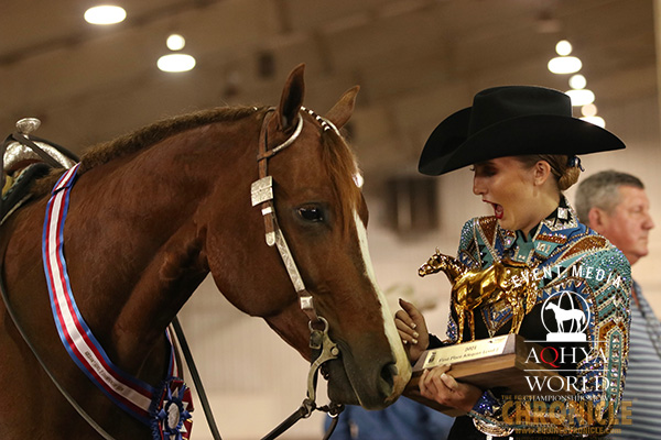 Final Around the Ring Photos- AQHA Youth World 2021