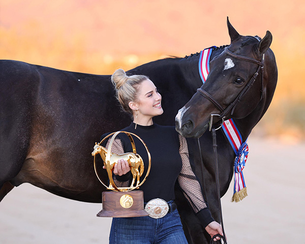 Letters to My Younger Self- Advice From an AQHA World Champion