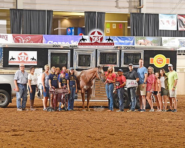 Back in Tulsa, 2021 Nationals and Appaloosa Youth World Show is a BIG Success