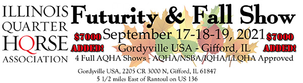 ILQHA Futurity and Fall Show Pattern Book Now Online