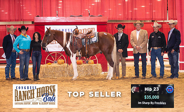 Strong Results Posted for First Congress Ranch Horse Sale