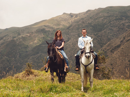 """""""I Couldn't Exactly Pull a Horse Saddle Out of My Pocket and Propose at a Fancy Dinner…"""""""