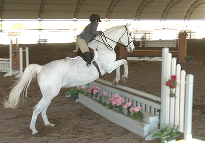 Equestrian Competes at First Show in Three Years Since 18th Leg Surgery, Ultimately Ending in Amputation
