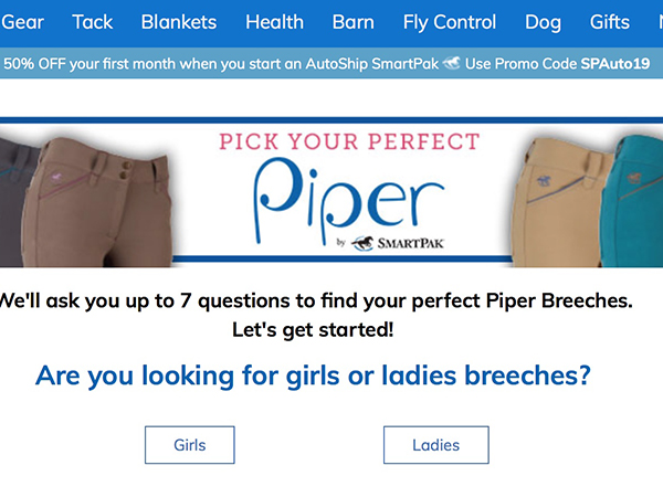 SmartPak Expands Piper Collection