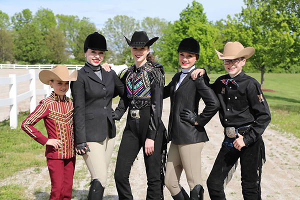 EC Photo of the Day- The Breakfast Club- Equestrian Style
