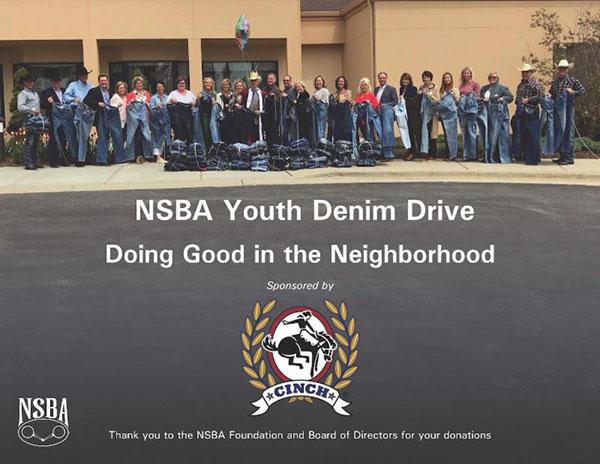 NSBA Youth Denim Drive- Doing Good in the Neighborhood