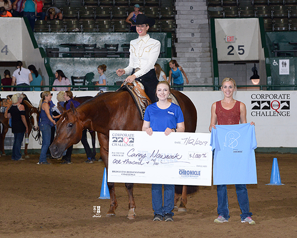 EC TV- Equine Chronicle Bridleless Horsemanship Winning Run