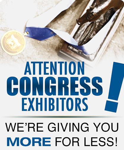 QH Congress Exhibitors: Advertise in The Equine Chronicle AND Congress Program and Get More For Less!