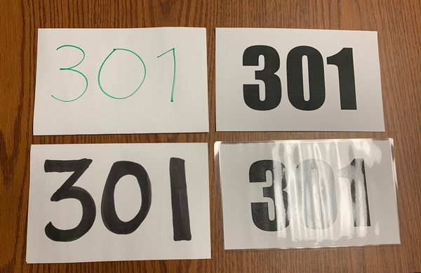 What Every Judge Wants You to Know About Back Numbers
