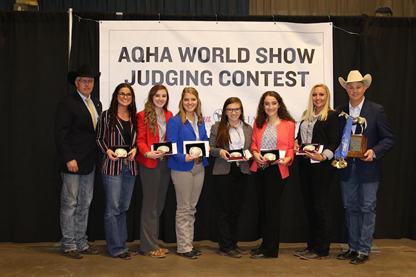 AQHA World Championship Horse Judging Contest