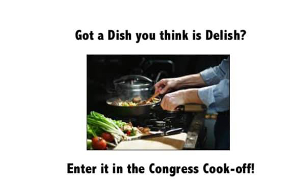 Got a Delish Dish? Enter the Congress Cook Off!