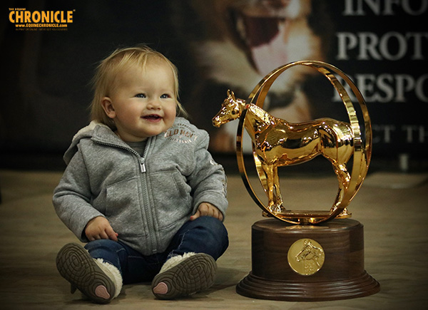 EC Photo of the Day- Mommy Won Me a Trophy!