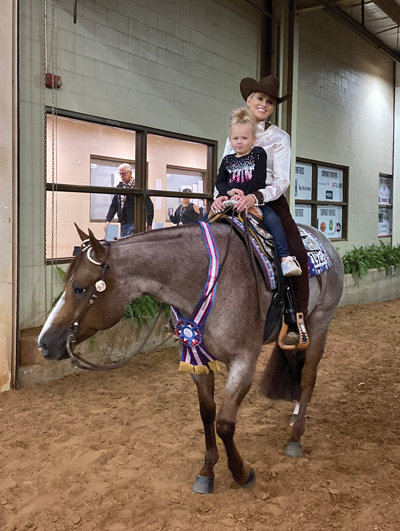 At the AQHA World Championship – November 19, 2019 with the G-Man
