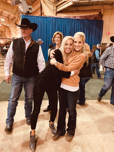 At the AQHA World Championship – November 18, 2019 with the G-Man