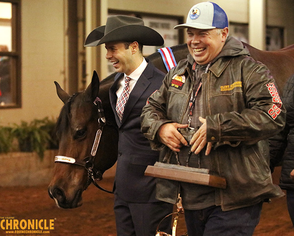 Tony Anderman and Solo Invested Win AQHA World Amateur Showmanship For Third Year in a Row