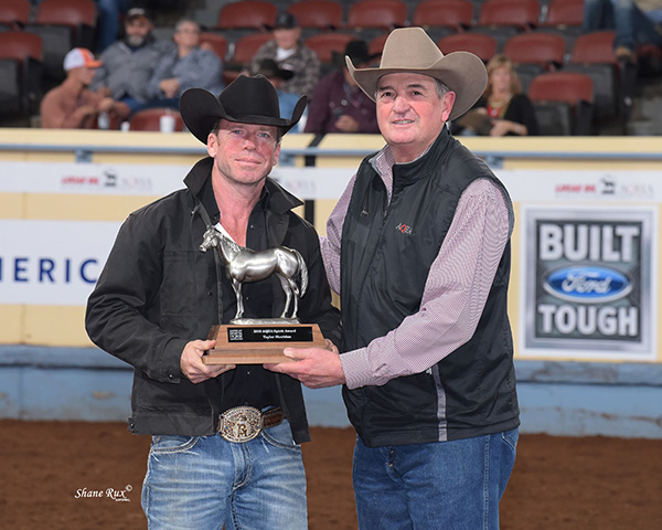 "AQHA Honors ""The Last Cowboy"" and ""Yellowstone"" Director, Taylor Sheridan, With Special Award"