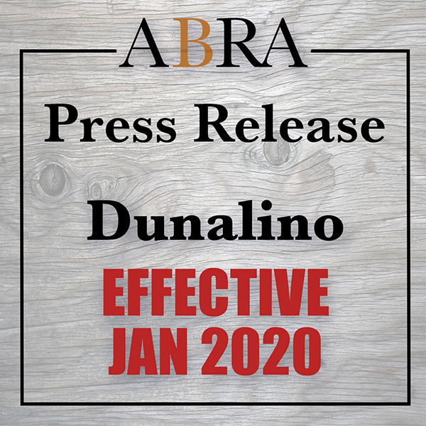 Dunalino Added to Registry in 2020