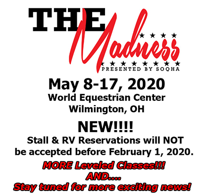 Save The Date- The Madness- Coming May 2020