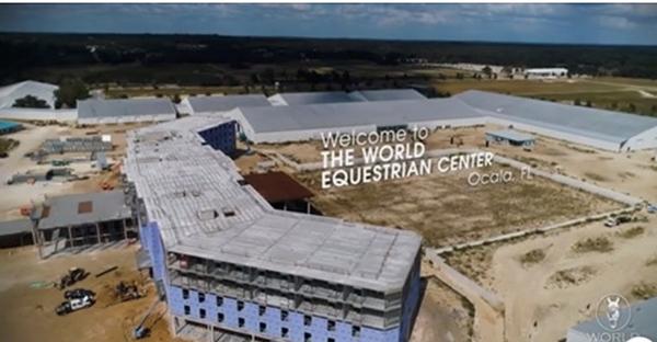 Flyover Tour of New World Equestrian Center Ocala