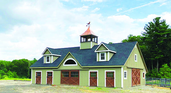 Selecting Siding For Your Horse Barn