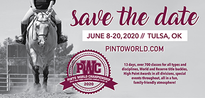Preliminary Schedule For 2020 PtHA World Show