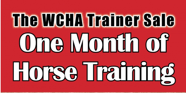 Halter Trainer's Auction to Benefit WCHA Closes February 29th