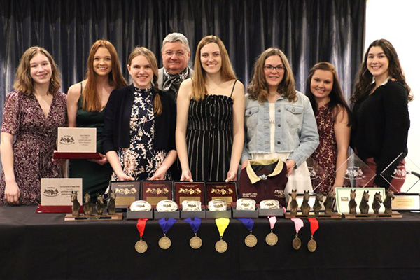 Around the Rings- PtHA Awards Banquet