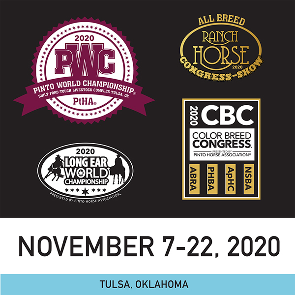 New Pinto World Show Schedule Released For November