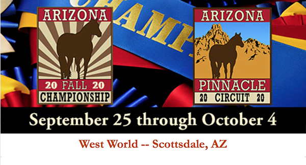 AZ Fall Championship Adding More Futurity Monies!