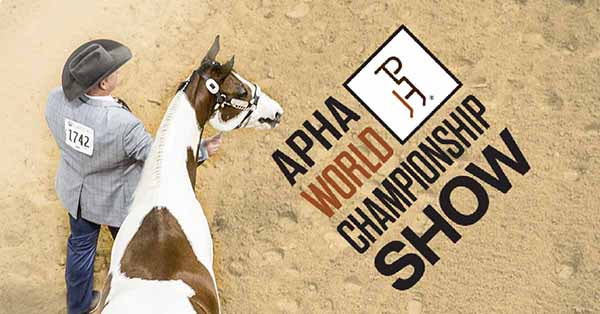 Starting in 2021, APHA World Show Will No Longer Require Qualifying