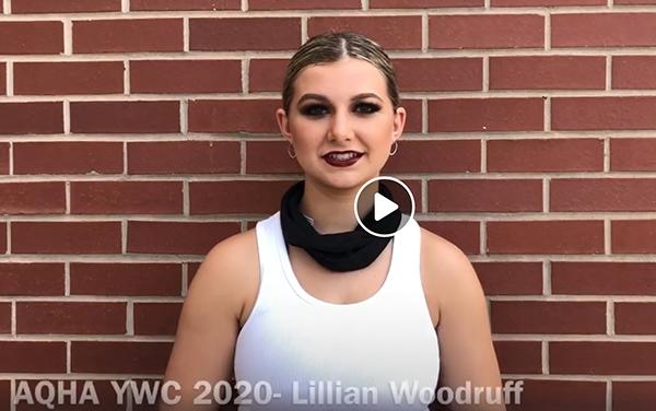 EC TV- L2 Showmanship- Lillian Woodruff and Goodbar Had A Dream