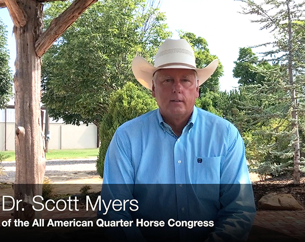 EC TV- Exclusive with Dr. Scott Myers of the Quarter Horse Congress
