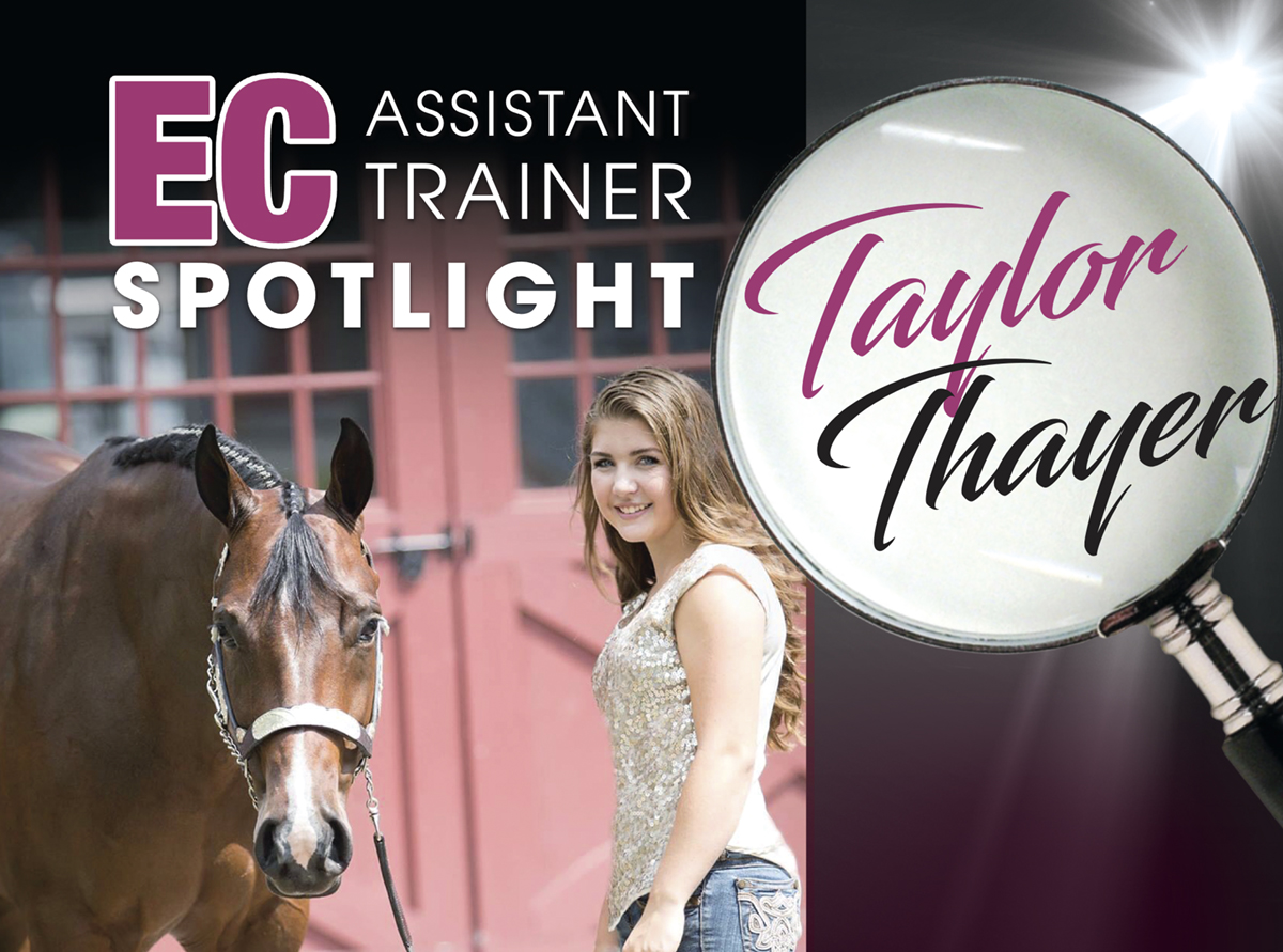 Assistant Trainer Spotlight – Taylor Thayer
