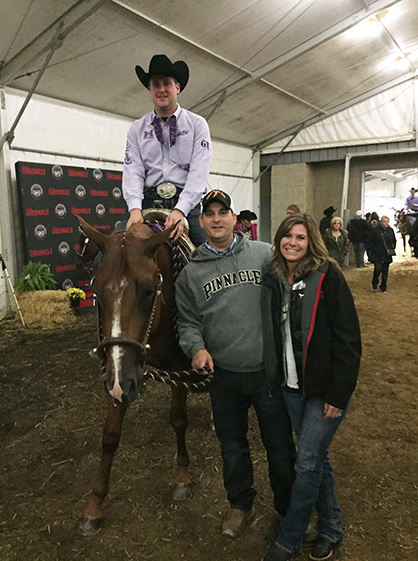 Quarter Horse Congress $1,000 Trainer Award Winner- Blake Britton