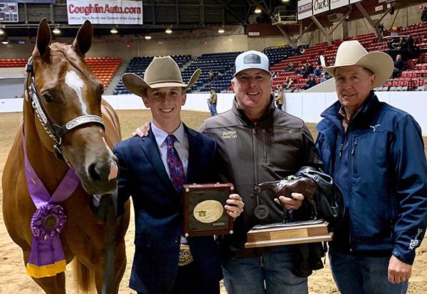 QH Congress $1,000 Trainer Award- Jeffrey Pait