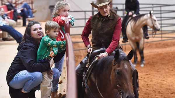 Assist AQHA Horseman, Chele McGauly, With Barn Fire Recovery