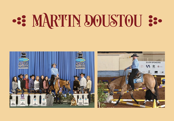 Getting to know Assistant Trainer Martin Doustou