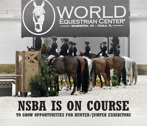 NSBA is On Course to Grow Opportunities for Hunter/Jumper Exhibitors