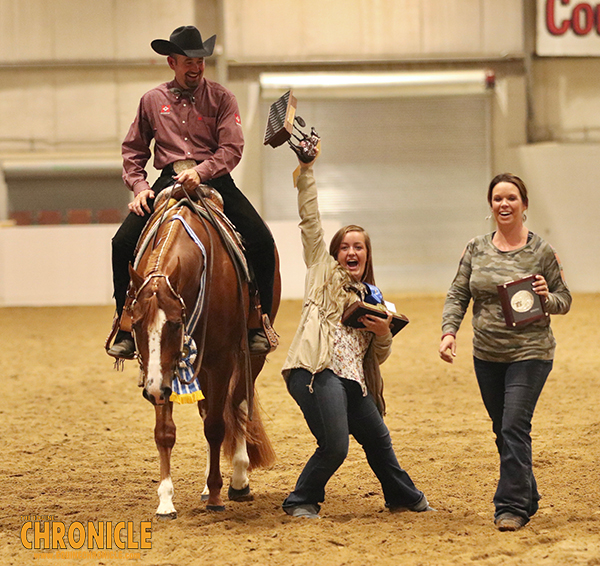 Multiple Congress, AQHA, and NSBA Champion, No Doubting Me, Finds New Home with Cindy Kaufman