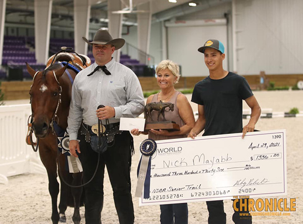 Champions at Sudden Impulse NSBA Futurity Include Green, Mayabb, Fussell, Cochran, and More