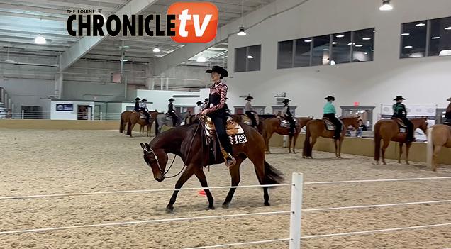 Winning Runs- MQHA Blind Horsemanship
