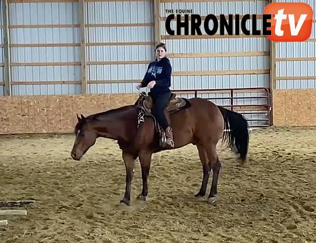 ECTV- Bridleless Horsemanship- Grace Gasper and Gota B A Hit