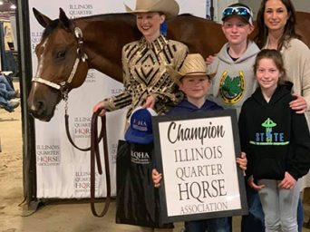 Photos and Results- ILQHA Spring Show