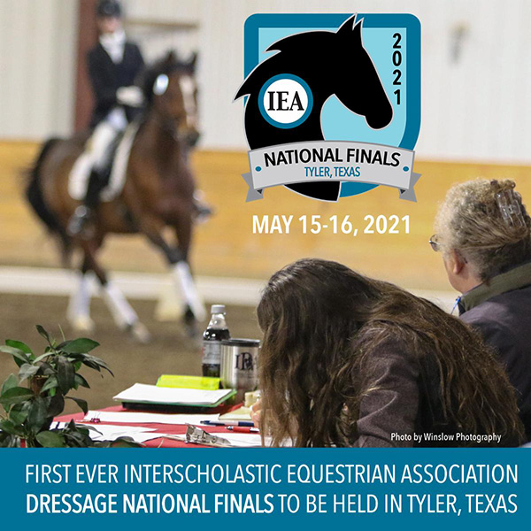 First-Ever IEA Dressage National Finals Coming to Texas