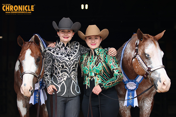 Two Sets of Best Friends Win APHA World Showmanship Titles