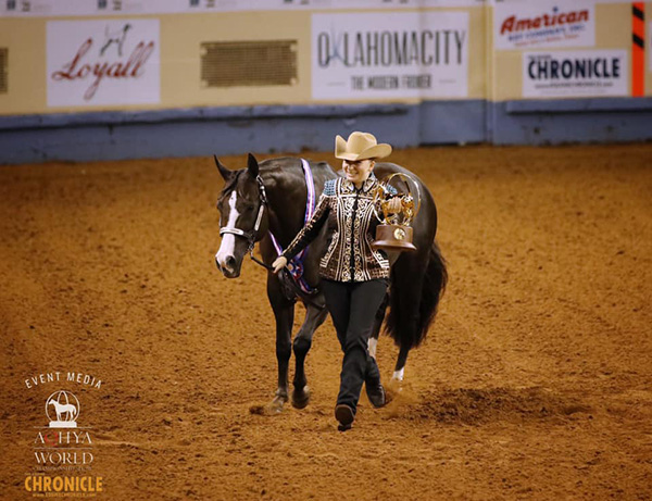 Champions at AQHA Youth World Include West, Neibrugge, Byers, Bomke, Smith, and More