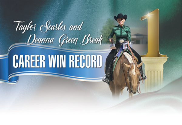 Taylor Searles and Deanna Green Break Career Win Record