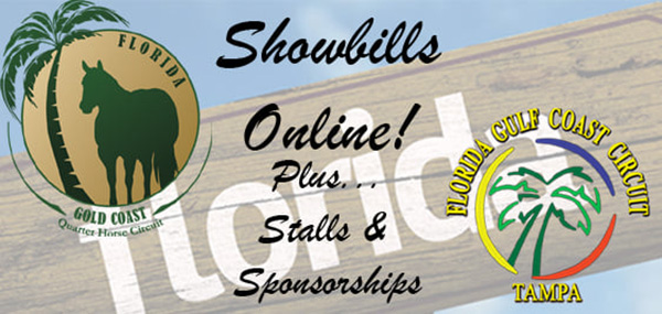 Showbills Available For FL Gold and Gulf Coast Shows