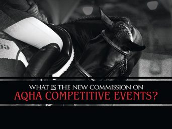 What IS the New Commission on AQHA Competitive Events?