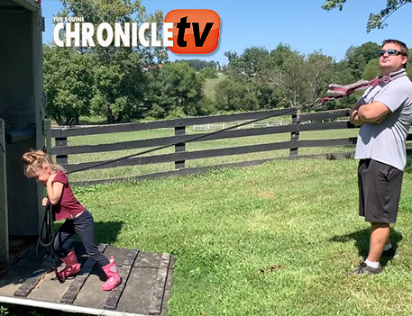 EC TV- A Day in the Life of a Naughty Horse